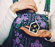 Náhrdelníky - Môj dom, moje srdce - 9037616_
