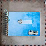 Papiernictvo - Scrapbook fotoalbum detský - 9040184_