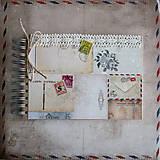 Papiernictvo - Cestovateľský album na fotografie - 9040213_