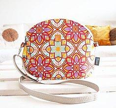 Kabelky - Stredná kabelka - orient v teplých farbách - 9040937_
