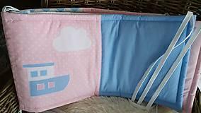 Textil - Hniezdo do postieľky-Na  mori - 9038470_