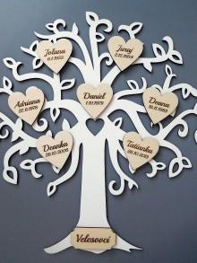 Dekorácie - rodinný strom IV - 9040131_
