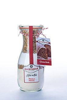 Potraviny - Koláč vo fľaši (Weck) - orechová bábovka - 9039612_