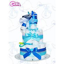 Detské doplnky - Plienková torta MAX - 9040850_