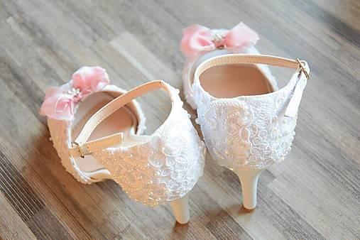 a04790eea5 Svadobné sandálky   HarmonyDekor - SAShE.sk - Handmade Obuv