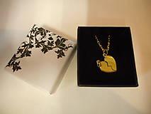 Iné šperky - Retiazka pilka s príveskom pre p.Jozefa - 9038863_