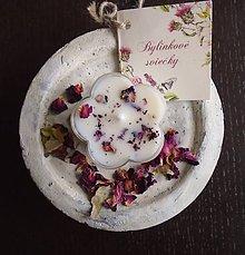Svietidlá a sviečky - Valentín - ruža, santalové drevo - 9037489_