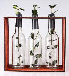 Dekorácie - Happy Three Bottles - 9039692_