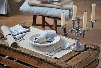 Úžitkový textil - prestieranie z režného plátna - 9037031_