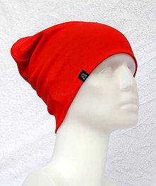 Detské čiapky - Čiapka Elastic červená - 9041414_