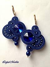 Náušnice - Brenda (Modrá) - 9040498_