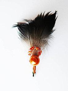 Pierka - Oranžové pierka - 9037102_