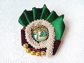 Odznaky/Brošne - Sarah Bernhardt (brooch) - 9044457_
