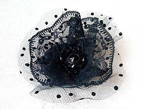 Odznaky/Brošne - Black diamond (brooch) - 9044524_