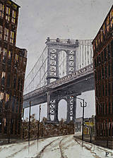 Obrazy - Obraz - Brooklyn, dumbo bridge, - 9044030_