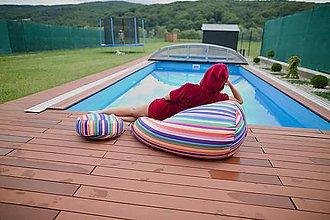 Nábytok - Dizajnový sedací vak TAKOY 3XL+podnožka zdarma poťah 51 - výpredaj - 9042590_