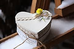 Dekorácie - Krabička - 9042163_