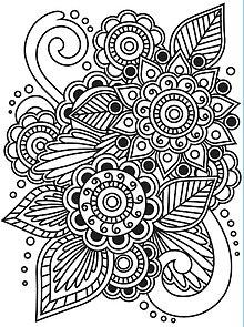 Pomôcky/Nástroje - Embosovacia kapsa Henna ornament - 9044113_