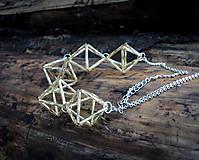 Náhrdelníky - Geometria tvary - náhrdelník - 9042105_
