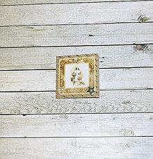 Papiernictvo - Blahoželanie v zlatej farbe - 9043532_