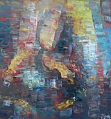 Obrazy - HOUSLISTKA, exspressionismus - 9045307_