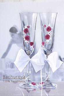 Nádoby - Svadobné poháre - 9043334_