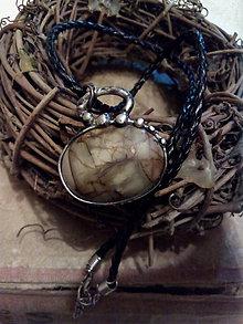 Náhrdelníky - Náhrdelník s jaspisom - 9045571_
