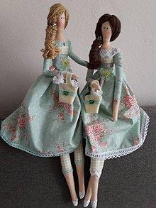 Bábiky - sestričky tildušky - 9043682_
