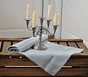 Úžitkový textil - ľanová štóla - 9042448_
