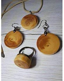 Sady šperkov - Sada - drevený šperk Quatre - 9044990_