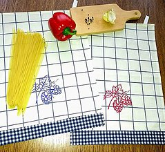 Úžitkový textil - Kuchynské utierky - 9044476_