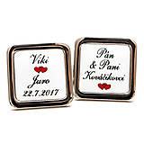 Šperky - Manžetové gombíky na mieru - 9044676_