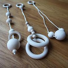 Hračky - Hračky na hrazdičku (3 ks) (Bez kúpy hrazdičky) - 9042798_
