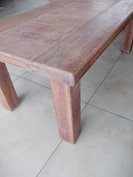 b15e98c24f54 Masívny dubový konferenčný stolík   WoodDiamond - SAShE.sk ...