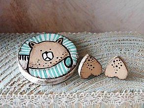 Sady šperkov - Nežný medvedík - 9043142_
