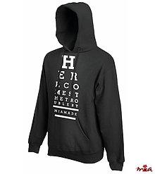 Oblečenie - Here Comes - hoodie for him - 9043687_