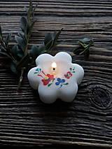 Darčeky pre svadobčanov - Kvetinka ľudový motív - 9043589_