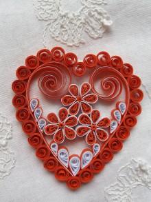 Drobnosti - Valentínske srdiečko - 9042675_