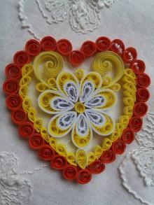 Drobnosti - Valentínske srdiečko - 9042690_
