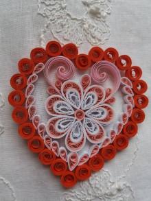 Drobnosti - Valentínske srdiečko - 9042717_
