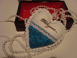 Darčeky pre svadobčanov - Svadobné srdiečko - 9043960_