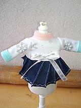 - Šatočky pre bábiky- 25-27 cm - 9044199_