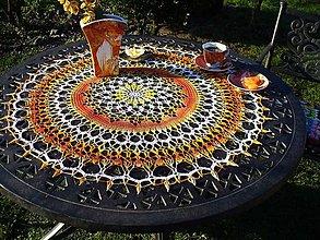 Úžitkový textil - Lucia, háčkované prestieranie - 9044479_