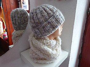 Čiapky - pletená čiapka GLORIA - 9048795_