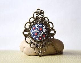 Náhrdelníky - Folk náhrdelník Alžbetka - 9048930_