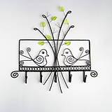- vešiak so stromom a vtáčikmi - 9046398_