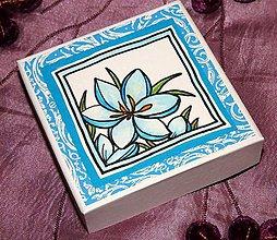 Krabičky - Krabička na naušničky - 9048890_