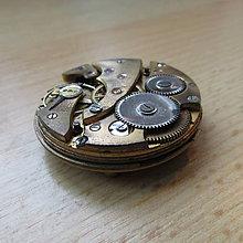 Dekorácie - TĚŽÍTKO ČASOSTROJ II, ze starých hodinek - 9048424_