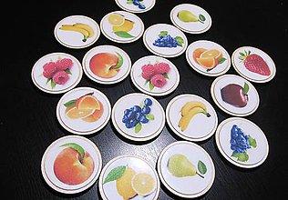 Hračky - Ovocné pexeso z preglejky - 9045887_