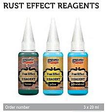 Farby-laky - Rust effect reagents - hrdza-effektné reagenty - 9047252_